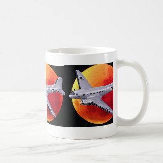 aviation basic white mug
