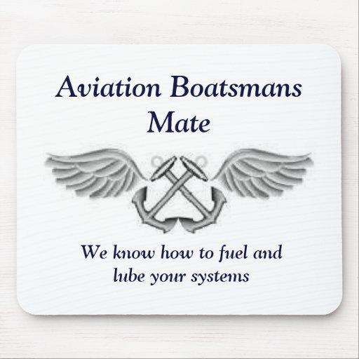 Aviation Boatsmans Mate Mousepad