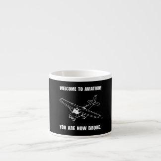 Aviation Broke Espresso Mug