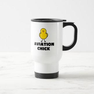 Aviation Chick Mugs