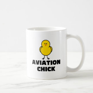 Aviation Chick Coffee Mugs