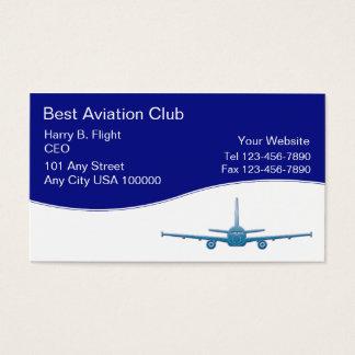 Aviation Club Business Cards