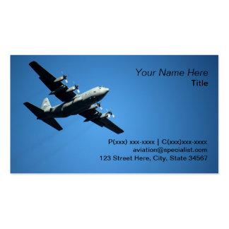 Aviation expert pack of standard business cards