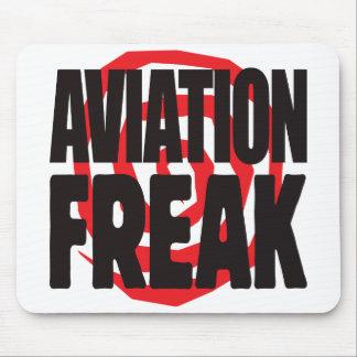 Aviation Freak Mousepads