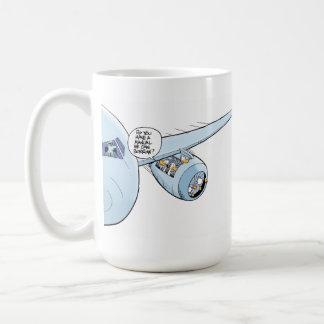 Aviation Humor Cartoon Coffee Mug