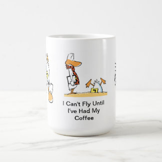 Aviation Humor Coffee Cartoon Mug