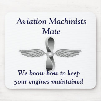 Aviation Machinists Mate Mousepad