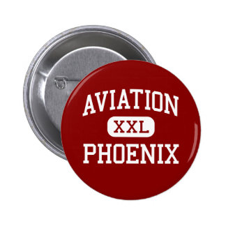 Aviation - Phoenix - High - Seattle Washington 6 Cm Round Badge