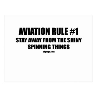 AVIATION RULE 1 POSTCARD