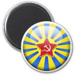 Aviation Russian Flag Magnet