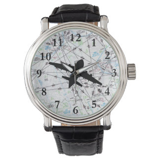 Aviation Watch, Gift for Pilot, Father's Day Gift Wrist Watches