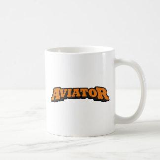 Aviator Basic White Mug
