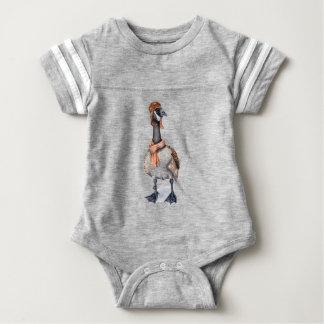 Aviator Goose Baby Bodysuit