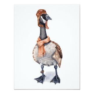 Aviator Goose Card