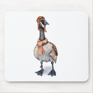 Aviator Goose Mouse Pad