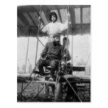 Aviator Henri Farman and Wife, early 1900s