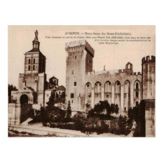 Avignon Cathedral Notre Dame des Doms 1920 Replica Postcard