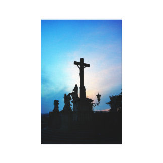 Avignon Cross Stretched Canvas Prints