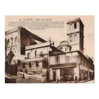 Avignon Eglise Saint Agrico 1920 Replica Vintage Postcard