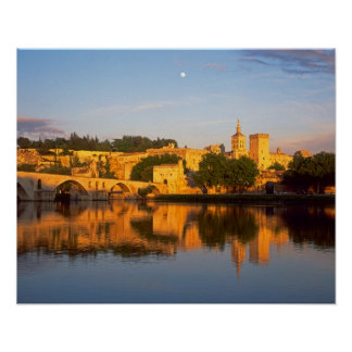 Avignon, Vaucluse, Provence, France, Rhone Poster