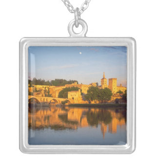 Avignon, Vaucluse, Provence, France, Rhone Square Pendant Necklace