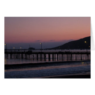 Avila Beach nights Greeting Card