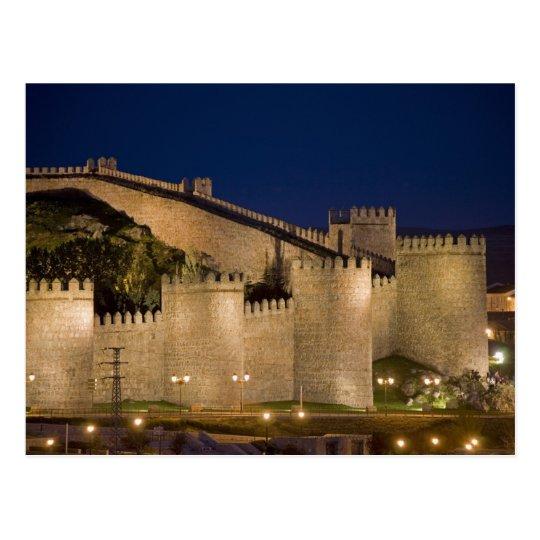 Avila, Castile and Leon, Spain Postcard