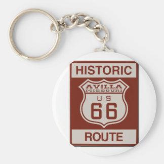 Avilla Route 66 Key Ring