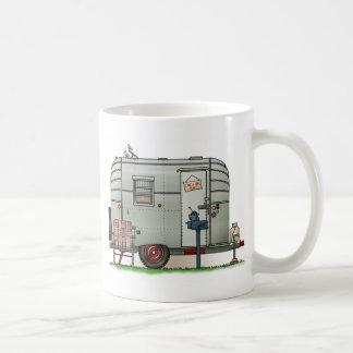 Avion Camper Trailer Coffee Mugs