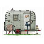 Avion Camper Trailer Post Card