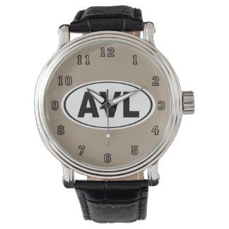AVL Asheville North Carolina Watch