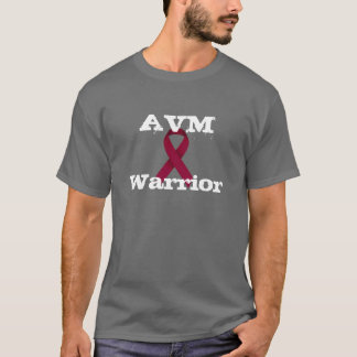 AVM Warrior Burgundy Ribbon Shirt