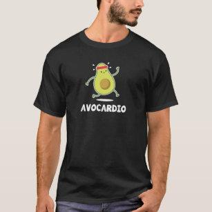 67bf0554188500 Avo Cardio Funny Workout Tropical Fruit Avocado T-Shirt
