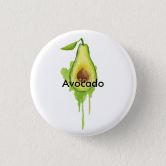Avocado 3 Cm Round Badge