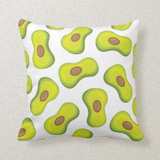Avocado accent pillow