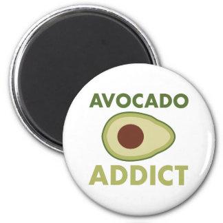 Avocado Addict 6 Cm Round Magnet
