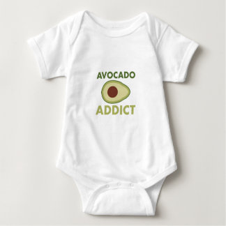 Avocado Addict Baby Bodysuit