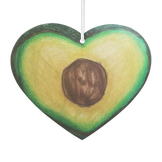 Avocado Car Freshener