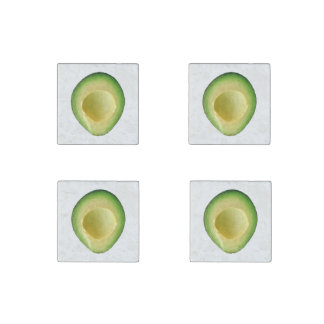 Avocado Crazy 4Georgianne Stone Magnet