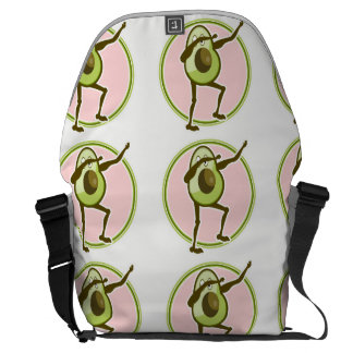 Avocado Dabbing Messenger Bag