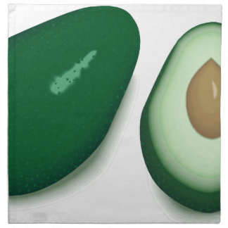 Avocado Drawing Napkin