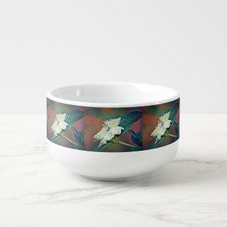 Avocado Flower Soup Bowl