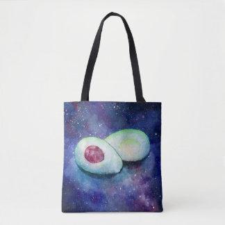 Avocado Galaxy | Tote Bag