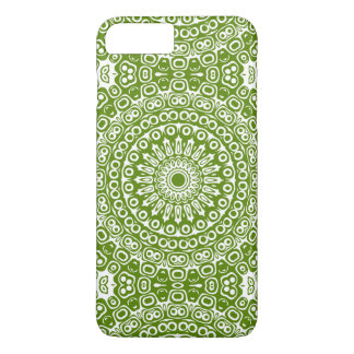 Avocado Green Mandala Design Kaleidoscope iPhone 8 Plus/7 Plus Case