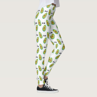 Avocado Love Pattern Leggings