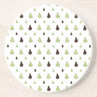 Avocado Pattern Coaster