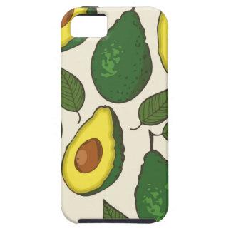 Avocado pattern iPhone 5 case