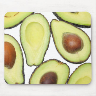 Avocado Pattern Mouse Pad