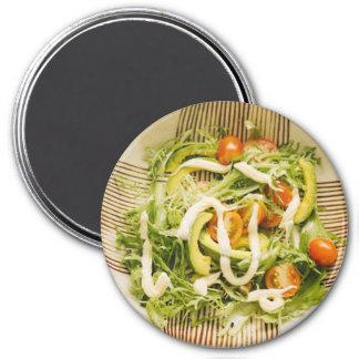 Avocado Salad Refrigerator Magnet