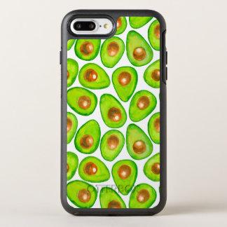Avocado slices watercolor OtterBox symmetry iPhone 8 plus/7 plus case